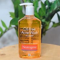 Sữa Rửa Mặt Hỗ Trợ Ngừa Mụn Neutrogena Oil-Free Acne Wash 269ml - Mỹ ( mẫu mới )