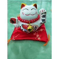 Mèo Thần Tài, Mèo May Mắn size nhỏ 7-9cm (mẫu ngẫu nhiên)