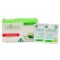 Muối rửa mũi Nha Đam Dr.Green| Hộp 30 gói| Dùng cho bé và người lớn| Hỗ trợ điều trị viêm mũi, sổ mũi, viêm mũi xoang