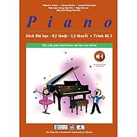 Piano Sách Bài Học – Kỹ Thuật – Lý Thuyết (Trình độ 2)