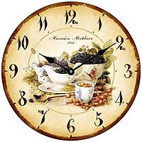 Đồng hồ treo tường phong cách cổ MS 46