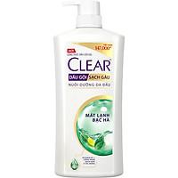 Dầu Gội Sạch Gàu CLEAR Mát Lạnh Bạc Hà (1.4kg)