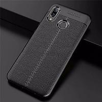 Ốp Lưng cao cấp Auto Focus Vân da cho điện thoại XIAOMI Redmi Note 7 - Hàng nhập khẩu (Màu Đen)