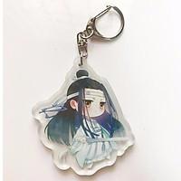 Móc khóa Lam vong cơ ma đạo tổ sư chibi anime trần tình lệnh móc khóa acrylic keychain mica cute đẹp dễ thương anime idol tặng ảnh thiết kế Vcone