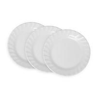 Bộ 3 Dĩa (Đĩa) 7 cạn xoắn An Toàn Sức Khỏe Nhựa Xanh Family A607 WA3
