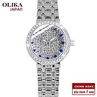 Đồng hồ nữ OLIKA JAPAN Đính Đá Sang Trọng - Tặng Kèm Pin ĐH Dự Phòng