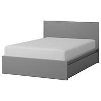 MALM, Giường ngủ 2 hộc tủ, 1m2 - Phong cách Bắc Âu thời thượng hiện đại, sản xuất tại Việt Nam