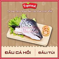 HCM - Đầu cá hồi (Đầu/túi/300g-400g) - Thích hợp với các món canh, lẩu,... - [Giao nhanh TPHCM]