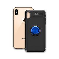 Ôp điện thoại Iphone XS Max - Chất liệu TPU Carbon Silicone mềm mại, chống bẩn - Iring màu xanh - Hàng Chính Hãng