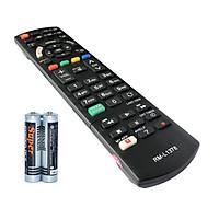 Remote Điều Khiển Cho Smart TV, Internet TV Panasonic RM-L1378 (Kèm Pin AAA Maxell)