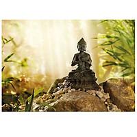 Tranh Dán Tường CASAMA Phật Ngồi Thư Giãn - 1-610