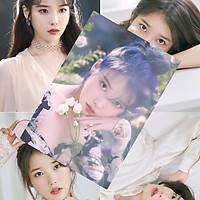 Poster IU Lee Ji-eun 8 tấm