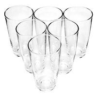 Bộ ly 6 cái Union Glass 340 Ly bầu cao 345ml  không ngã màu, sản xuất Thái Lan