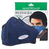 Combo 05 Mặt Nạ - Khẩu trang than hoạt tính kháng khuẩn NeoVision NeoMask NC95 chuẩn N95 - Ngăn ngừa bụi mịn PM2.5, lọc khuẩn BFE >95% (Được cấp bởi Nelson Lab), kháng giọt bắn ngăn ngừa vi khuẩn, có thể giặt tái sử dụng nhiều lần