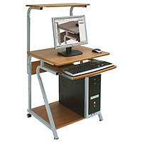 Bàn máy tính Hòa Phát chân sắt mặt gỗ