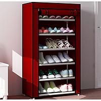 Tủ Vải Để Giày Dép Đa Năng, Tủ Vải Khung Nhôm Giày Dép Tiện Lợi, Hàng Chính Hãng Amalife
