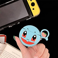 Case Bảo Vệ Dành Cho Tai Nghe Apple Airpods / Airpods 2 Hình Pokemon Kèm Móc Treo