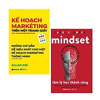 Combo 2 Cuốn :Kế Hoạch Marketing Trên Một - Trang - Giấy + Tâm Lý Học Thành Công  ( Những Cuốn Sách Giúp Bạn Nâng Cao Khả Năng Bán Hàng )