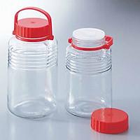 Bộ 2 bình thủy tinh ngâm rượu kháng khuẩn tiện dụng (5L) - Hàng nội địa Nhật