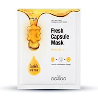 Mặt Nạ Trắng Sáng Mịn Màng THE OOZOO Fresh Capsule Mask Royal Jelly