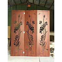 Vách sen binh phong vân gỗ (giá cho 1 tấm ngang 60cm) hình là 3 tấm
