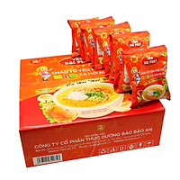 Cháo Tổ Yến Trẻ Em Cá Hồi Bí Đỏ - Yến Đại Phát, Thùng 30 gói x 50gr, tiện lợi thơm ngon dinh dưỡng cao