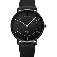 Đồng hồ nam SIêu Mỏng YAZOLE YA5088 DOanh Nhân 2020 CHạy 2 Kim Sang trọng Dây Da PU cao Cấp