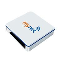Android Tivi Box MYNET TV 4H - Chip lõi tứ, 4GB RAM, 32GB ROM, Android 10 OS - Cấu hình mạnh mẽ, Hàng chính hãng 2021