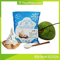 [ĂN BAO GHIỀN❤️] Bột Làm Kem Tươi THUCPHAM.COM Vị Dừa 1kg - Công Thức Độc Quyền Hương Vị Mới, Không Gắt, Không Hắc