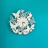 Đồng hồ treo tường inox nghệ thuật 40x40