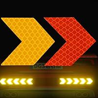 Decal phản quang hình múi tên dán trang trí cảnh báo cho xe ô, xe máy
