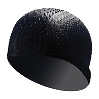 Nón Bơi, Mũ Bơi Cao Cấp 100% Silicone Không Thấm Nước HP304