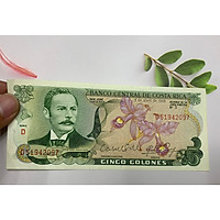 Tiền họp chợ của Costa Rica ở châu Mỹ , mua may bán đắt , tặng phơi nylon bảo quản tiền