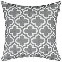 Gối Vuông Trang Trí, Gối Sofa Đơn Giản  Make My Home Quatrefoil 2 (45 x 45 cm)