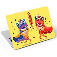 Mẫu Dán Skin Trang Trí Mặt Ngoài + Lót Tay Laptop Holidays LTHLD - 197