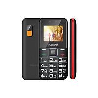 Điện thoại Masstel Fami 9 Đen đỏ - Hàng chính hãng