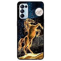 Ốp lưng dành cho Oppo Reno 5 mẫu Chú Ngựa Vàng