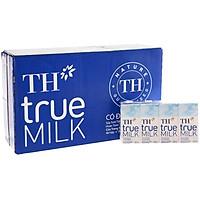 Thùng sữa tươi tiệt trùng Có đường TH True Milk 180mlx48