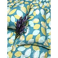 Drap Giường Ga Giường May Từ Vải Cotton Thắng Lợi Mẫu Mới Mát Mềm Mịn Đẹp Vượt Thời Gian - Mẫu Lá Cây
