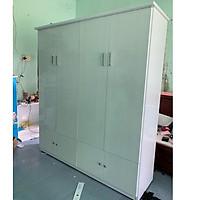 Tủ người lớn nhựa đài loan 4 cánh cao 185x164x50(TPHCM)