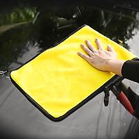 Sét 5 khăn lau xe hơi, thấm hút tốt , rửa xe, lau khô, lau sáp đánh bóng, vệ sinh các vết bẩn, kích thước 30x60cm