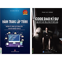Combo Hành Trang Lập Trình + Code Dạo Kí Sự (2 Quyển)