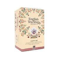 TRÀ ORGANIC HAPPY ME HIỆU ENGLISH TEA SHOP - hộp giấy 30g - hàng nhập khẩu