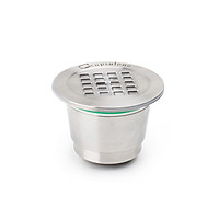 Stainless Steel Fillable Coffee Capsules Reusable Coffee Capsule Cup Filter Compatible with All Series of Nespresso