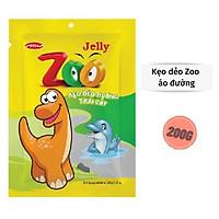 Kẹo dẻo Zoo Bibica áo đường túi 200g
