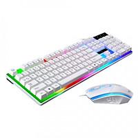 Bàn Phím Chuột Gaming G21 LED 7 Màu - hàng nhập khẩu