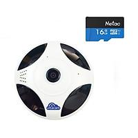CAMERA QUAY TOÀN CẢNH 360 ĐỘ VITACAM VR1080 FULLHD + THẺ NHỚ 16GB - HÀNG CHÍNH HÃNG