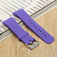 Replacement Silicone Wristband Band Wrist Strap Bracelet For Samsung Gear Fit 2 purple