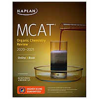 MCAT Organic Chemistry Review 2020-2021: Online + Book (Kaplan Test Prep)