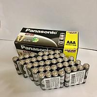 Bộ gồm 10 vỉ pin đũa đen AAA NEO Panasonic R03NT/4S (Hàng chính hãng)
